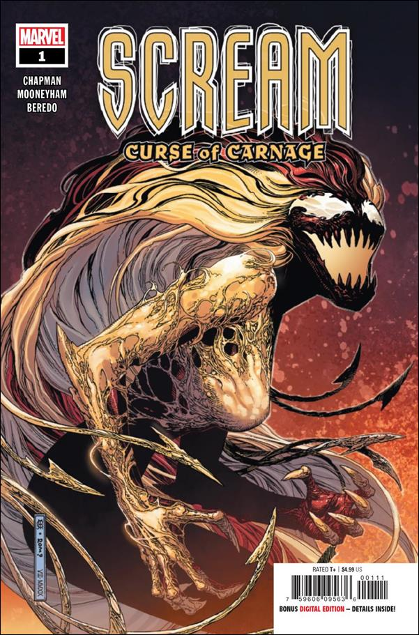 Scream: Curse of Carnage 1-A by Marvel