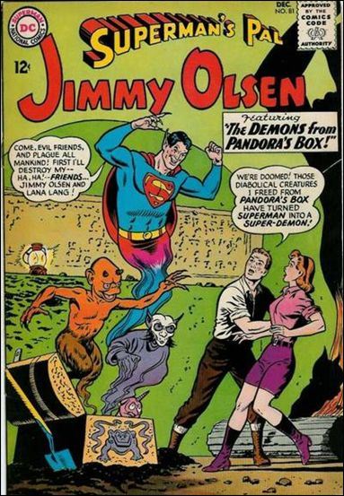 Superman's Pal Jimmy Olsen 81-A by DC