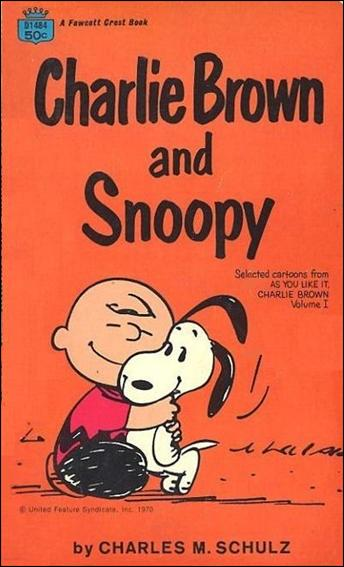 Charlie Brown and Snoopy 1-A by Fawcett