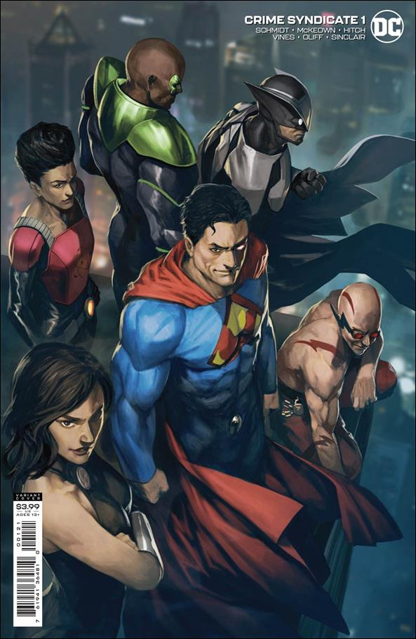 Crime Syndicate 1-B by DC