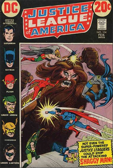 Justice League of America (1960) 104-A by DC