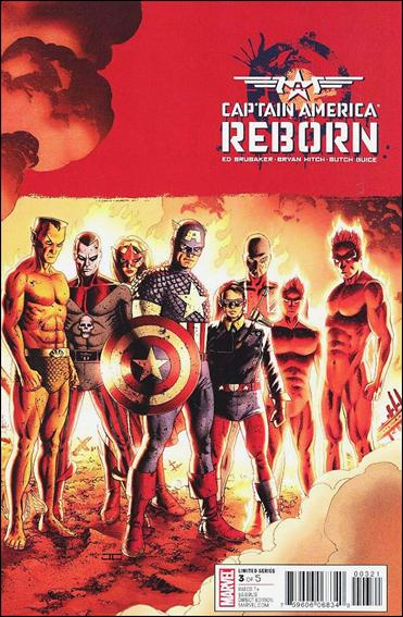 Captain America: Reborn 3-C by Marvel