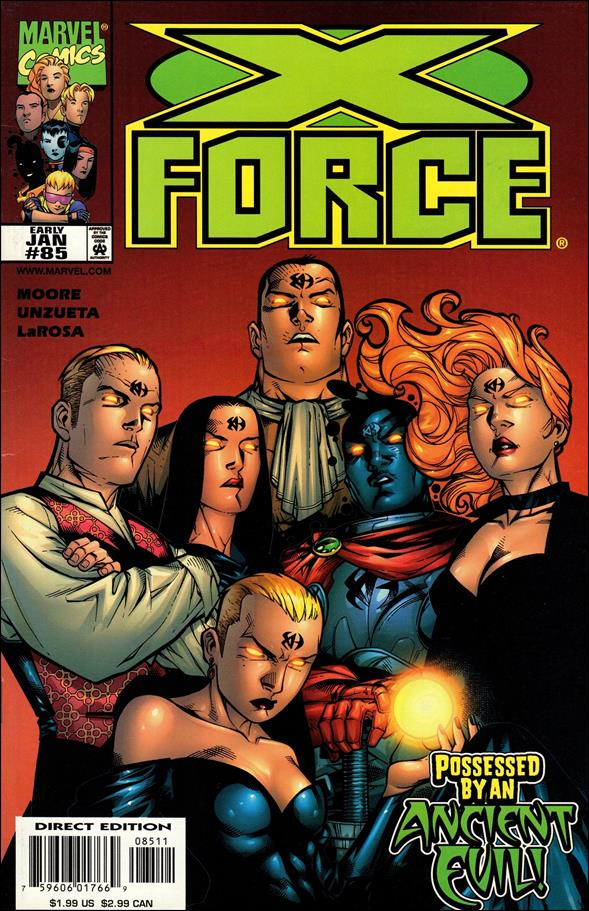 X-Force (1991) 85-A by Marvel