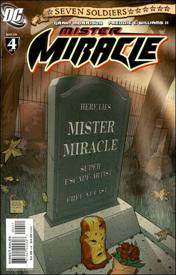 Seven Soldiers: Mister Miracle 4-A by DC