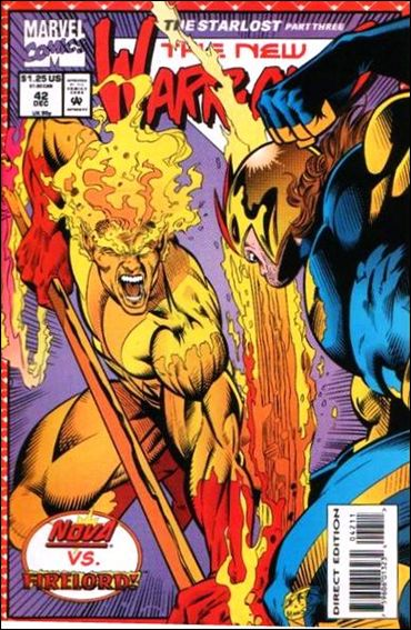 New Warriors (1990) 42-A by Marvel