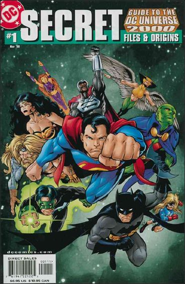 Secret Files & Origins Guide to the DC Universe 2000 1-A by DC