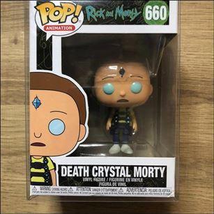 POP! Animation Death Crystal Morty