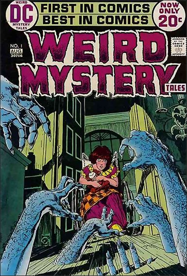 Weird Mystery Tales (1972) 1-A by DC