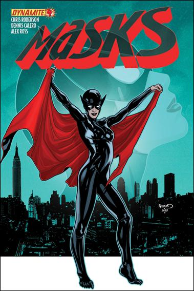 Masks 4-C by Dynamite Entertainment