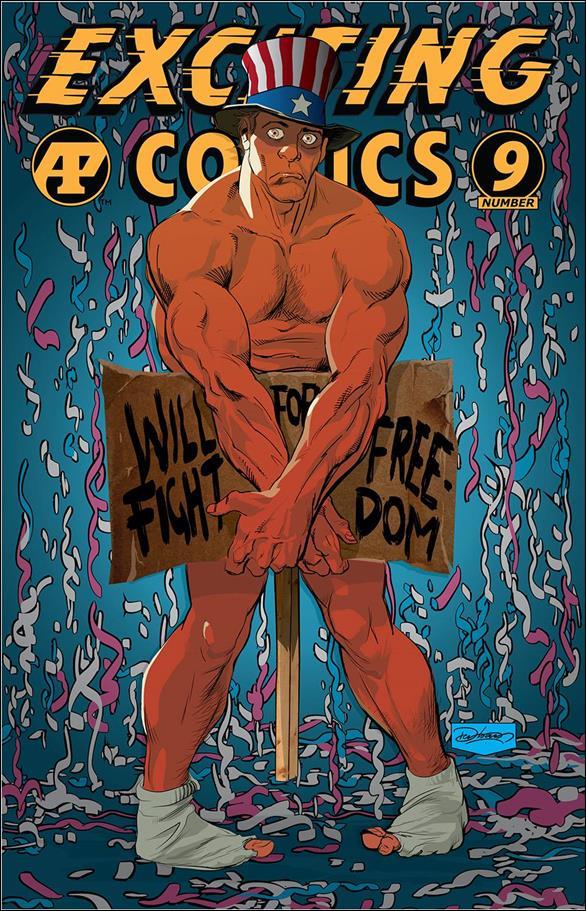 Exciting Comics (2019) 9-A by Antarctic Press