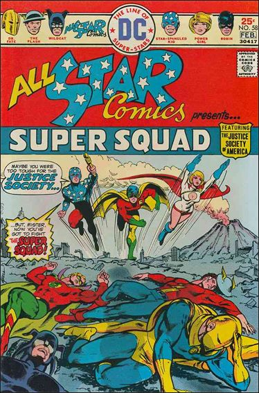 All Star Comics (1940) 58-A by DC