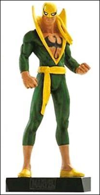 Classic Marvel Figurine Collection (UK) Iron Fist by Eaglemoss Publications