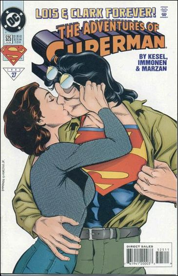 Adventures of Superman (1987) 525-A by DC