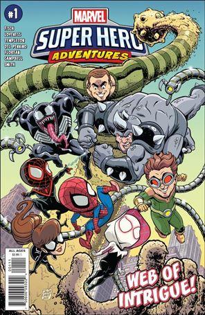 Marvel Super Hero Adventures: Web of Intrigue 1-A