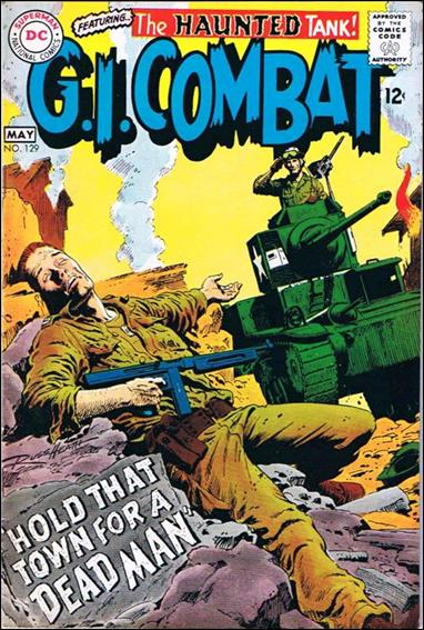 G.I. Combat (1952) 129-A by DC