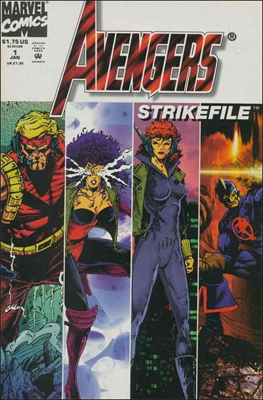Avengers Strike File 1-A by Marvel