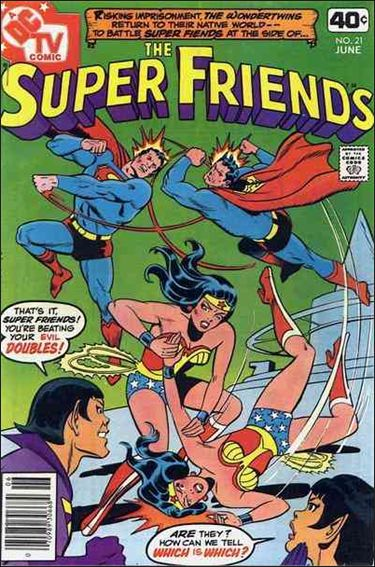 Super Friends (1976) 21-A by DC
