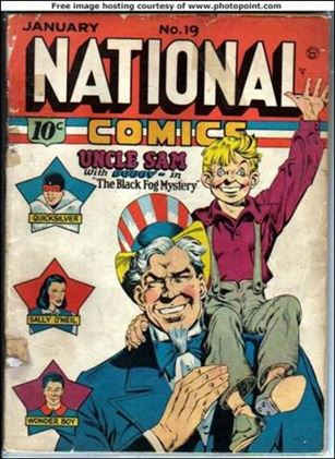 National Comics (1940) 19-A