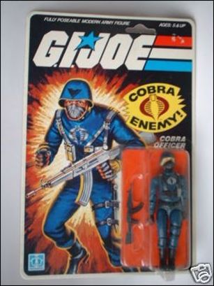 "G.I. Joe: A Real American Hero 3 3/4"" Basic Action Figures Cobra Officer (The Enemy)"
