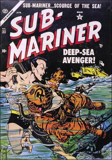 Sub-Mariner (1941) 33-A by Atlas