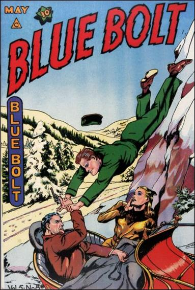 Blue Bolt (1944) 8-A by Novelty Press