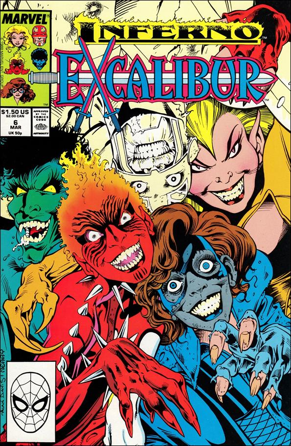 Excalibur (1988) 6-A by Marvel