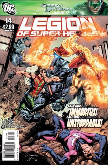 Legion of Super-Heroes (2010) 14-A by DC