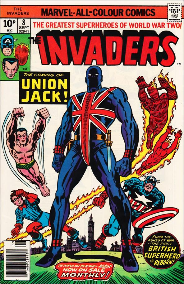 Invaders (1975) 8-B by Marvel
