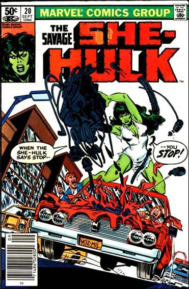 Savage She-Hulk 20-A by Marvel