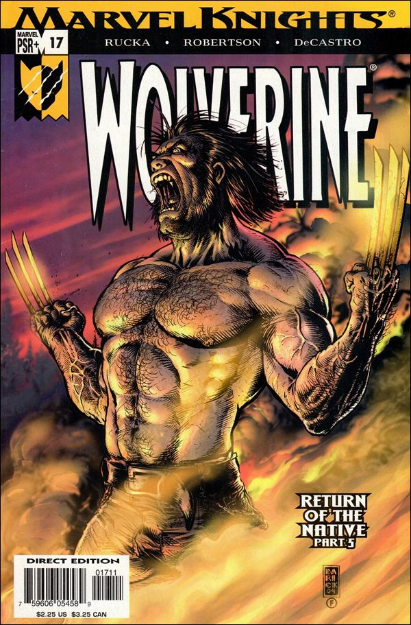 Wolverine (2003)  17-A by Marvel