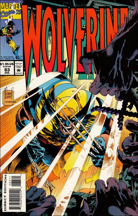 Wolverine (1988)  83-A by Marvel