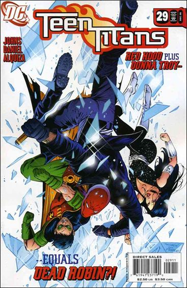 Teen Titans (2003) 29-A by DC