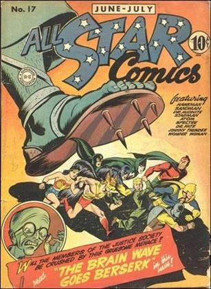 All Star Comics (1940) 17-A