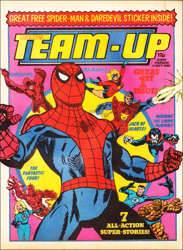 Marvel Team-Up (UK) 1-A by Marvel UK