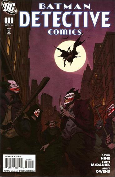 Detective Comics (1937) 868-A by DC