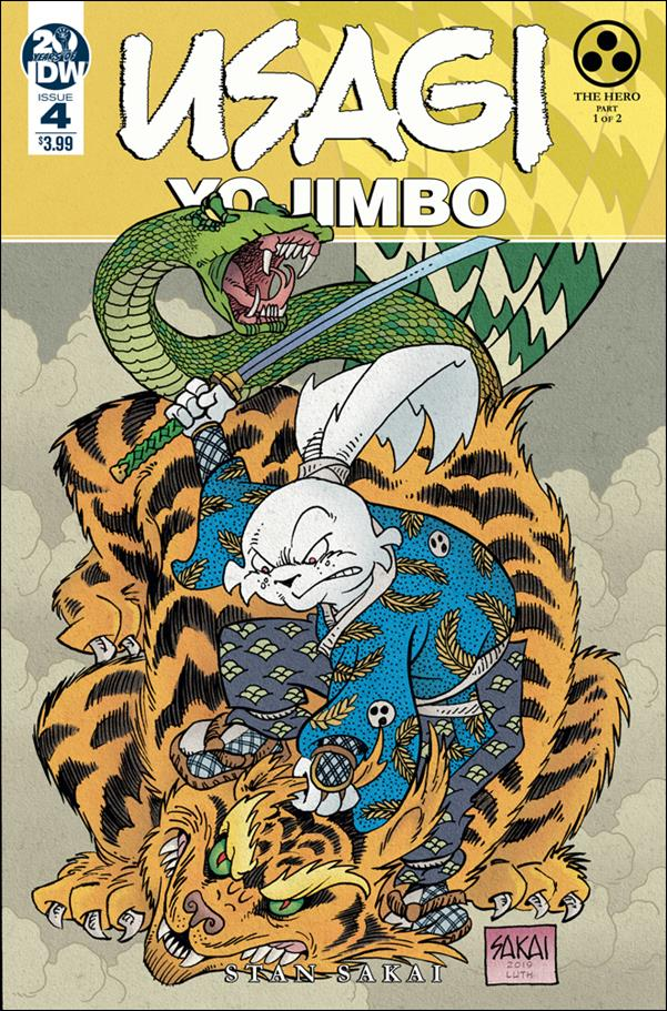 Usagi Yojimbo (2019) 4-A by IDW