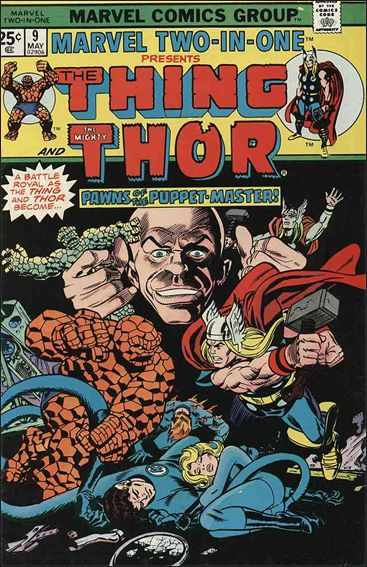 Marvel Two-In-One (1974) 9-A by Marvel