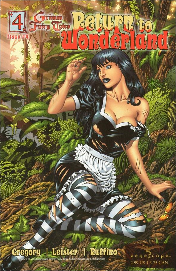 Grimm Fairy Tales: Return to Wonderland 4-B by Zenescope Entertainment