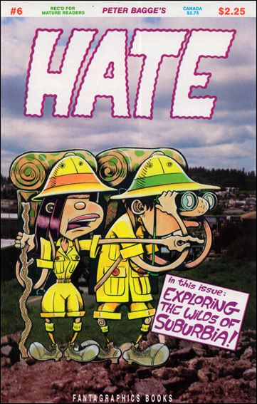 Hate 6-A by Fantagraphics