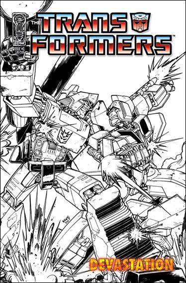 Transformers: Devastation 6-C by IDW