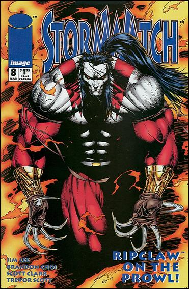 StormWatch (1993) 8-A by Image