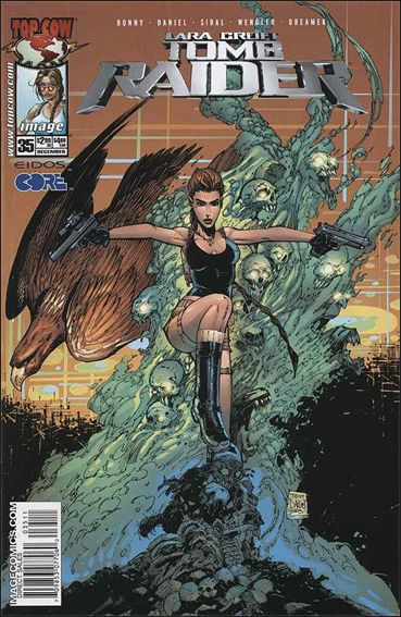 Tomb Raider: The Series 35-A by Top Cow