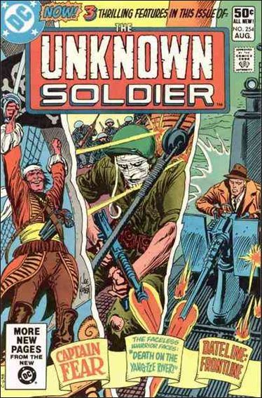 Unknown Soldier (1977)  254-A by DC