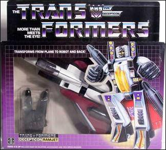 Transformers: More Than Meets the Eye (Generation 1) Ramjet (Decepticon) by Hasbro