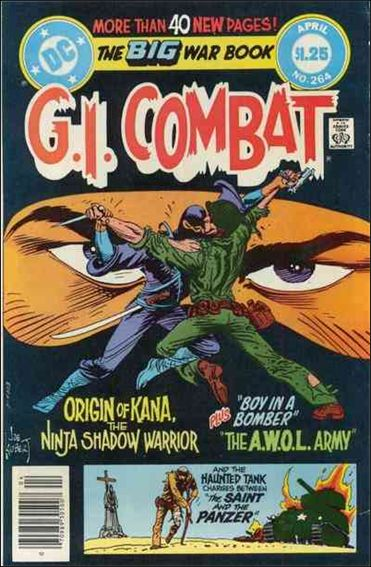 G.I. Combat (1952) 264-A by DC