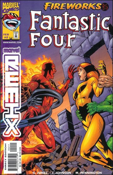 Fantastic Four: Fireworks 2-A by Marvel