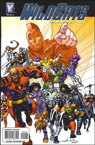Wildcats (2008) 22-A by WildStorm