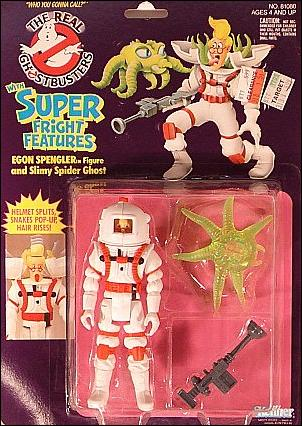 Real Ghostbusters: Super Fright Features Egon Spengler and Slimy Spider Ghost by Kenner