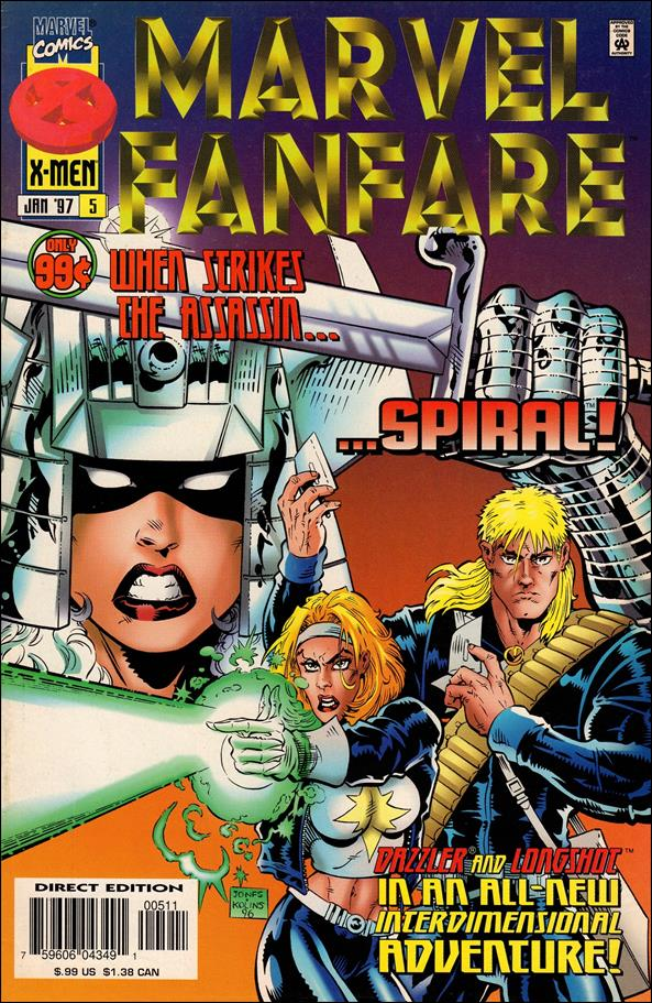 Marvel Fanfare (1996) 5-A by Marvel