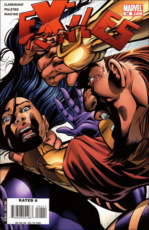 Exiles (2001) 94-A by Marvel